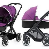 Доставка! Детская универсальная коляска 2 в 1 BabyStyle Oyster max grape / mirror
