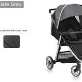 Великобритания. Прогулочная детская коляска BabyStyle Oyster lite slate grey