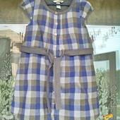 Платье - халат для девочки 7 -8 лет ( 128)