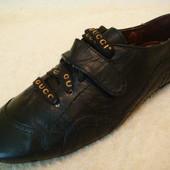 Кроссовки-туфли размер 23,5см Gucci Натуральная кожа с дост по Украине