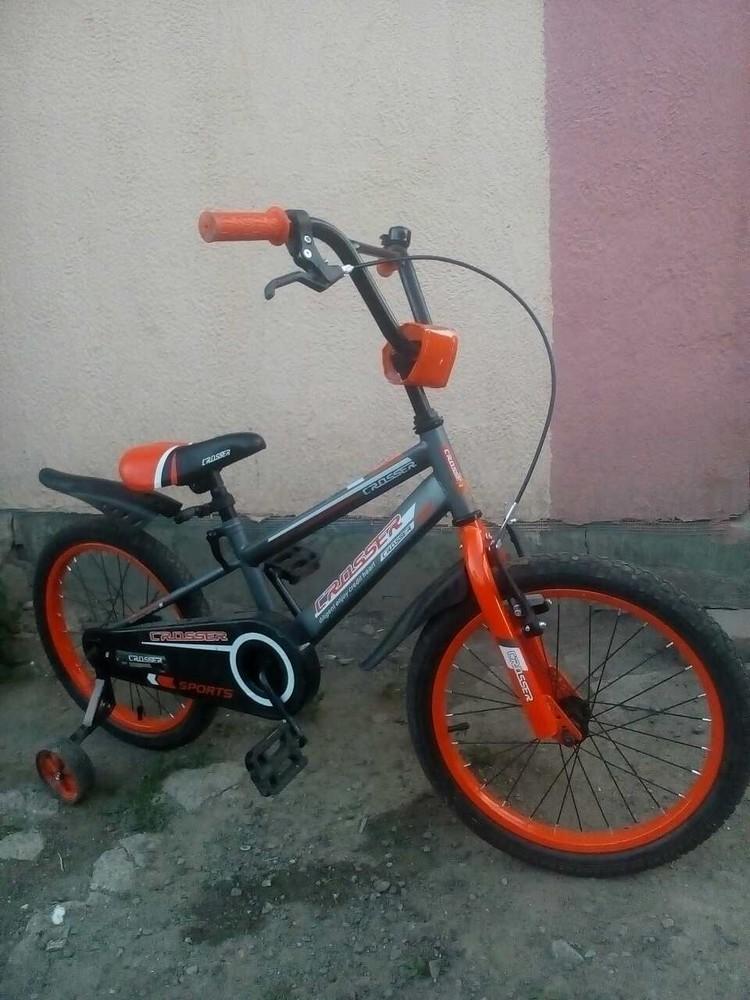 Кросер спорт  14 16 18  дюймов велосипед детский двухколесный crosser sports фото №1