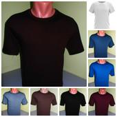 футболка мужская 100%хб. с 48 по 54р.