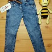 Детские джинсы девочке на 3, 4 года Beebaby (Бибеби)