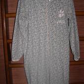Пижама флисовая Леопардик, женская, размеры S М, рост до 175 см