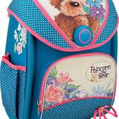 Рюкзак школьный каркасный Kite трансформер Popcorn Bear po16-505S