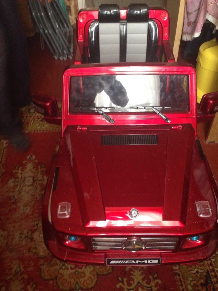 Электромобиль джип Mercedes Benz AMG, с пультом управления фото №1