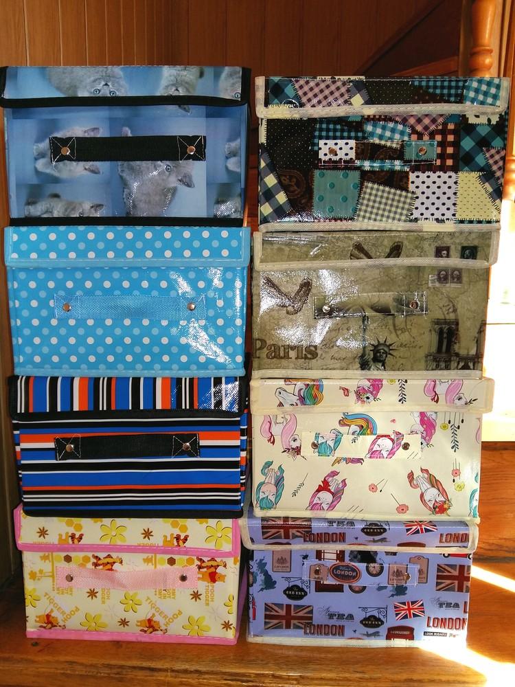 Складные ящики, чемоданы, органайзеры для игрушек фото №1