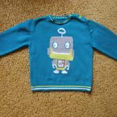 Яркий свитерок ф.George на 6_9мес.