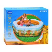 Бассейн надувной  Интекс Intex 57497 Король Лев