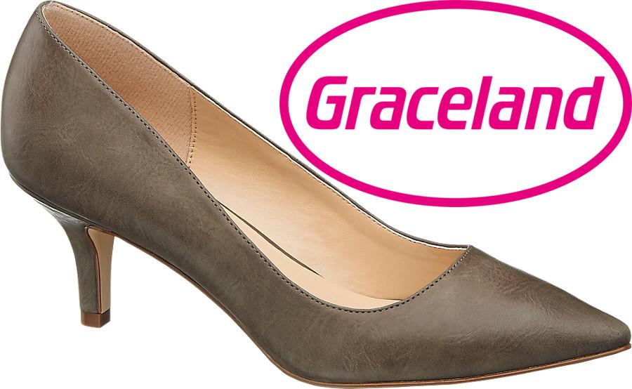 Туфли женские на шпильке 36р фирмы graceland германия фото №1