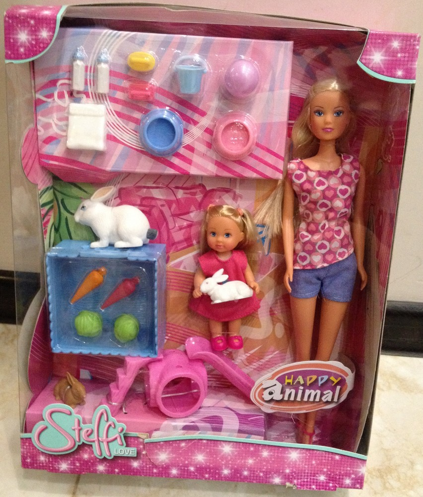 Кукольный набор штеффи и эви с животными steffi evi love 5732156 фото №1