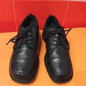 Туфли-полуботинки мужские Sperry р.38,5(5,5), натур.кожа,