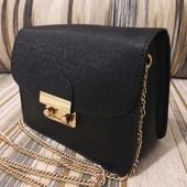 Маленькая сумочка-клатч под бренд Furla Фурла  цвета