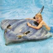 Надувная игрушка для плавания Intex 57550 Скат 188*145см, надувной плотик, детский плотик Интекс