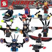 Супер герои мстители  Heroes Assemble, минифигурки