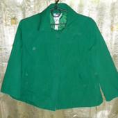 яркий лёгкий плащик-пиджачок