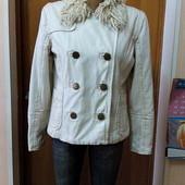 Женская зимняя джинсовая куртка River Island р-р M-L