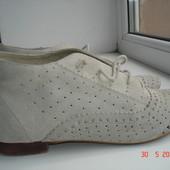 Ботинки натуральный замш River Island, 39/26 см