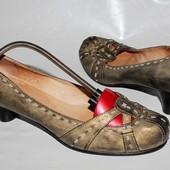 Туфли 39 р One Of Италия кожа полная оригинал