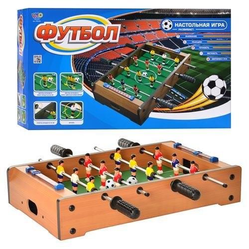 Настольный футбол hg 235 a деревяный game на штангах фото №1