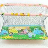 Детский манеж Kinderbox , для мальчиков и девочек