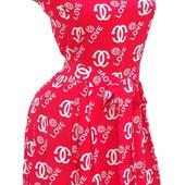 Яркие летние платья из штапеля  в расцветках