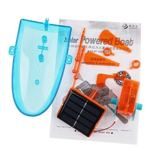 Конструктор-лодка на солнечных батар фото №1