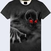 Крутые, стильные 3D футболки