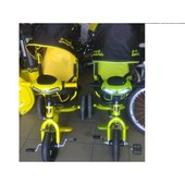Детский трехколесный велосипед Ламборджини с фарой надувные колёса