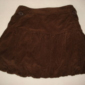 юбка микровельвет на 2-3 года