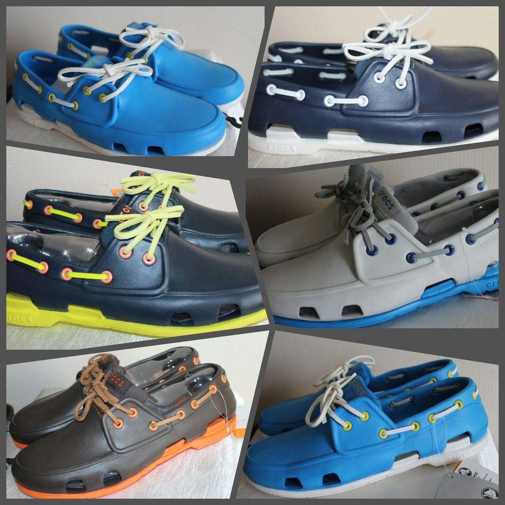 Классная мужская обувь от Crocs - Beach line фото №1