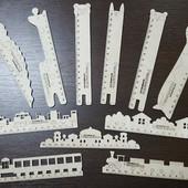 Оригинальные деревянные Линейки  (не окрашенные)