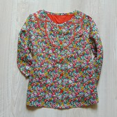 Новая яркая блуза для маленькой принцессы. M&S. Размер на бирке 3-6 месяцев, но реально на 1-3 года.