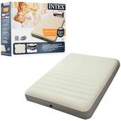 Надувной матрас Intex 64702 (137х191х25см)