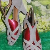Шкіряні туфельки Nine West