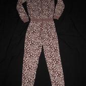 флисовая пижама домашний костюм на 160 рост, на худенькую
