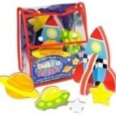 Распродажа -Ракета  Игровой набор 3D модель для ванной от  Meadow Kids
