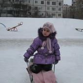Набор зимний Pupill берет,шапка и шарф,перчатки в подарок. На возраст 4-6 лет.