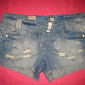 Джинсовые шорты True 2U Denim - размер М