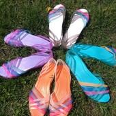 балетки в стиле crocs