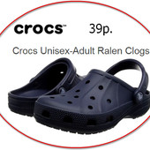 сандалии мужские Crocs Ralen Clog Adults sandals navy оригинал