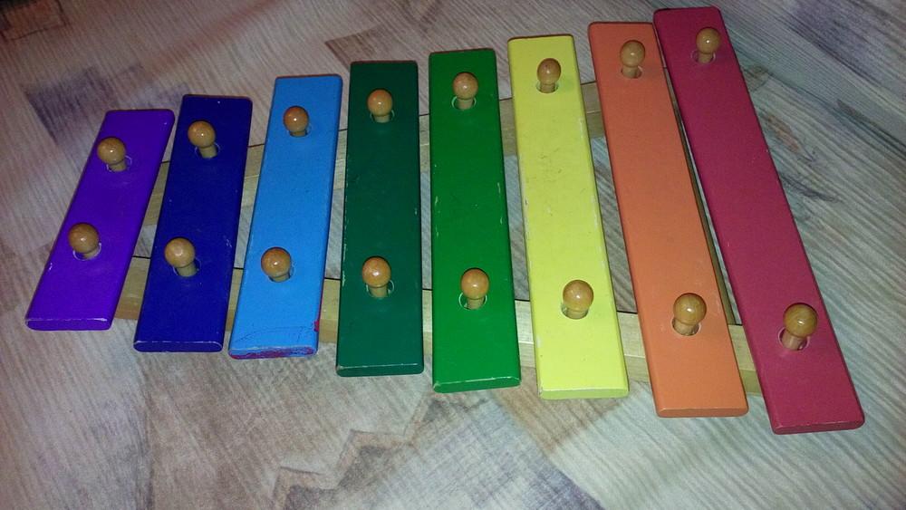 Деревянный ксилофон фото №1