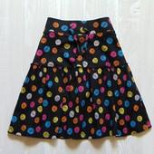 Стильная трикотажная юбка для девочки. George. Размер 9-10 лет. Состояние: идеальное
