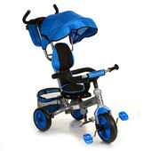 Велосипед трехколесный 3130 синий