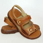 Кожаные сандалии мужские