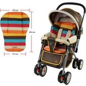 Вкладыш-матрасик для коляски, автокресла, стульчика для кормления и т.д.