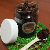 100% натуральний антицелюлітний цукрово-кавовий скраб для тіла з ЕМ апельсину. Лот 250 мл!!!