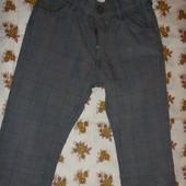 модные лёгкие штаны на модника 6-12 мес