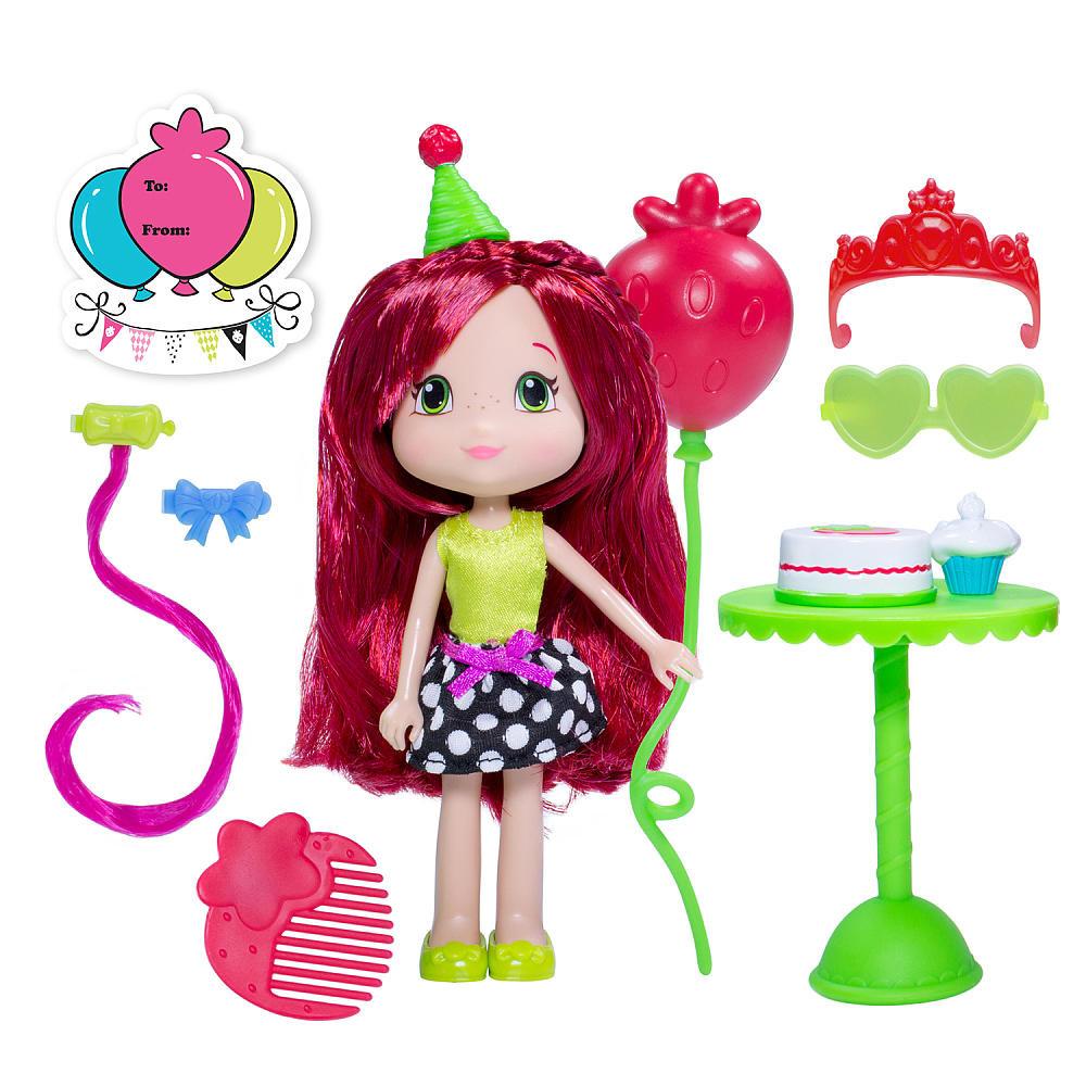 Ароматная кукла шарлотта земляничка с аксессуарами ягодный праздник фото №1