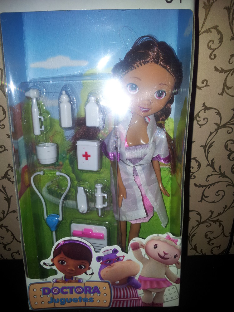 "Набор кукла  доктор ""плюшева"" фото №1"